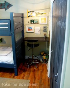 How to build modern style bunk beds inspired by Land of Nod Addison Bunk Beds! Free simple step by step plans with full diagrams, shopping list and cut list.
