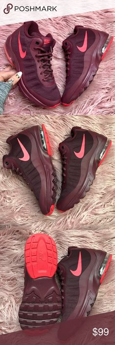 abec0b6e8448a purchase nike womens air max invigor mid sneaker boots black black 673a4  e8438  promo code for nwt nike invigor mid maroon brand newno boxno  tradesprice is ...