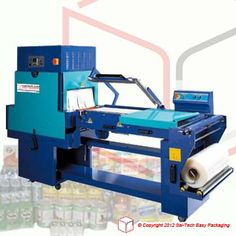 STEP Shrink Packaging Machine Semi-auto L-Sealer with tunnel. Packaging Machine
