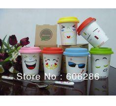 Interesting cups Ceramic Travel Coffee Mugs, Coffee Travel, Travel Mug, Eco Cup, Coffee Cups, Porcelain, Ceramics, Tableware