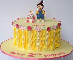 Agnes (Despicable me) cake