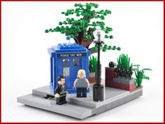 Doctor Who: A LEGO® creation by Mr. Xenomurphy