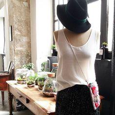 Look #postdiem x @yiskashop Venez découvrir la sélection shopping de l '@atelier.meraki jusqu'à ce soir 19h au 16 rue Neuve Popincourt Paris XI #shopping #Paris #createurs #mode #accessoire #madeinFrance #ootd