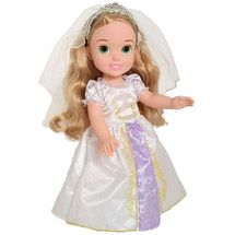 Walmart: Disney Princess Wedding Rapunzel Toddler Doll