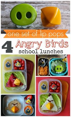 Angry Bird Lunches by www.mamabelly.com