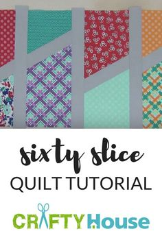 Piece This Gorgeous Quilt In Under 3 Hours!