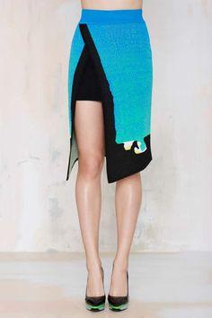 Alice McCall Natural Landscape Skirt