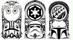 Polynesian Tribal Tattoo - Starwars