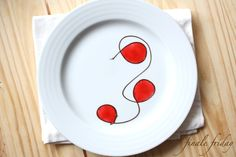a whimsical dessert plating for something chocolatey :) Plating desserts - a tutorial