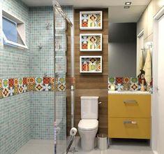 decoração com nicho para banheiro