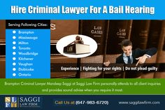 Bail Bondsman is a person who gets bail for an individual who has been accused of a crime and is put into jail until the case comes up for hearing in court. In order to secure bail for the accused, certain amount of money is paid as surety. Our Service:  Hire Criminal Lawyer For A Bail Hearing Do I Need A Lawyer For A Bail Hearing How Long Does It Take To Get A Bail Hearing
