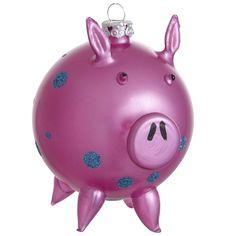 Oh What Fun: Pier 1 Pig Ornament