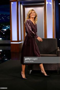 Greys Anatomy Characters, Ellen Pompeo, Meredith Grey, Style Icons, Actresses, Formal Dresses, My Style, Grey's Anatomy, Beautiful