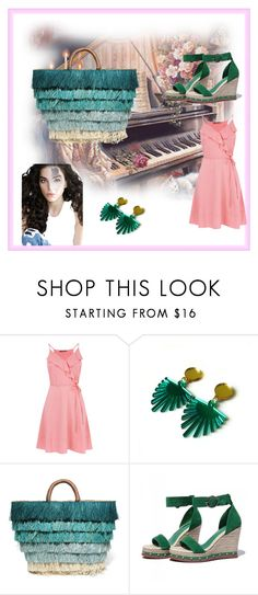 """"""" Pink and Green """" by meri55 ❤ liked on Polyvore featuring Kayu"""