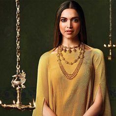 Deepika Padukone, Tanishq Ad Shoot, MyFashgram