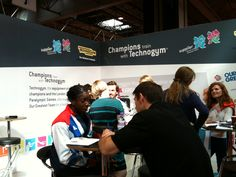 Christine Ohuruogu, silver medalist at London 2012 and a Technogym Wellness Ambassador at Technogym Booth LIW 400m, Great Team, Champion, Wellness, Train, London, Sports, Silver, Zug