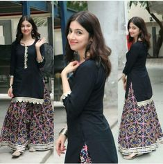 Lehenga Top, Lehenga Suit, Anarkali Suits, Punjabi Suits, Designer Suits Online, Designer Dresses, Pakistani Dress Design, Pakistani Dresses, Indian Dresses