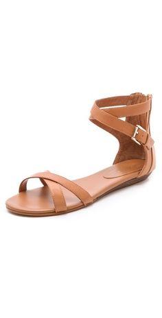 ++ rebecca minkoff bettina flat sandals