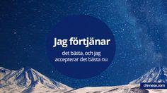 #affirmationer #positiva #svenska #attraktionslagen