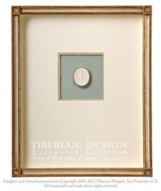 Tiberian Framed Intaglios 3 a single framed intaglio seal after the antique depicts a subject relating to Greek and Roman mythology