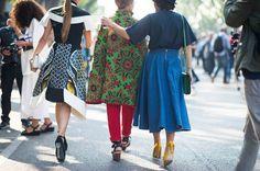 Milan Fashion Week Spring 2014 Street Style - Milan Fashion Week Spring 2014 Street Style, Day 6  #annarusska #streetstyle