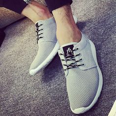 Zplover 2016 New Spring Summer Men's Casual Shoes Flat Shoes chaussure homme Korean Breathable Air Mesh Men Shoes Zapatos Hombre #>=#>=#>=#>=#> Click on the pin to check out discount price, color, size, shipping, etc. Save and like it!