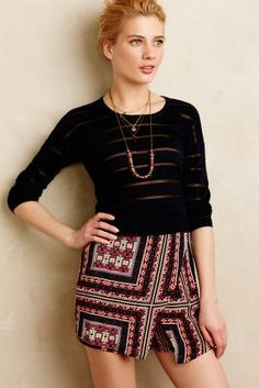 Fashionable outfit by anthropologie