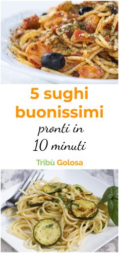 5 very good sauces ready in 10 minutes, Food And Drinks, Tired of the usual tomato paste? If the time to cook is cheap but the gluttony is great, here are 5 super tasty pasta sauces!