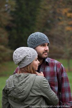 """Стильная шапка """"Father cables"""" для женщин и мужчин."""