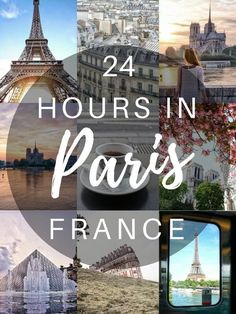 24 hours in Paris, France- How to spend one day in the city of love (Montmartre, Le Marais, Sunrise at Trocadero)