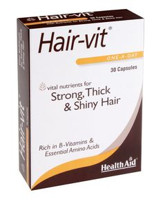 Hair-vit Capsules by HealthAid. Hair vitamin capsules specially formulated to provide the vital vitamins required for strong, healthy hair. Vitamins For Hair Growth, Hair Vitamins, Teenage Depression, Depression Bipolar, People With Ocd, Get Thicker Hair, Social Anxiety Disorder, Questionnaire, Benzoic Acid