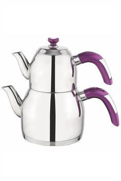 Soft Çaydanlık - Mor