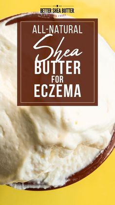 Due to high pollutants and allergens, the number of eczema victims is on the rise. If you can't seem to rid the pain, it is time to turn to a natural source of healing such as shea butter for eczema symptoms. It is easy to say that eczema is frustrating. It is painful, itchy, embarrassing, and persistent. What's even worse is that most skin care products tend to dry out your skin and make the symptoms worse Natural Hair Growth, Natural Hair Styles, Natural Skin Moisturizer, Eczema Symptoms, Unrefined Shea Butter, Natural Treatments, Healing, Skin Care