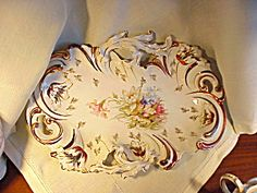 RS PRUSSIA RETICULATED COPPER TIFFANY TRAY