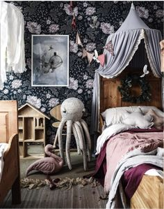 bedroom wall ideas above bed \ bedroom wall ideas . bedroom wall ideas for adults . bedroom wall ideas above bed . Baby Bedroom, Girls Bedroom, Bedroom Decor, Childs Bedroom, Bedroom Wall, Kids Room Design, Little Girl Rooms, Room Inspiration, Home Decor