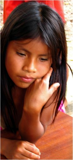 Embera beautiful girl