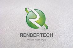 R Letter, R logo, Logo templates by Design Studio Pro on Creative Market Design 3d, Design Studio, Logo Design, Graphic Design, Business Brochure, Business Card Logo, Festival Logo, Letter Form, Construction Logo
