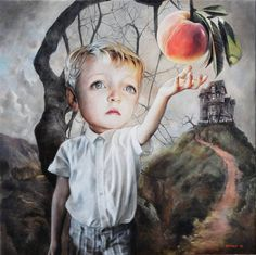 James and the Giant Peach...Richard J Oliver