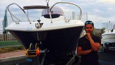 """Giuliano Porro and """"Romar Bermuda 570"""""""