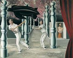 Rene Magritte / The Secret Player / 1927