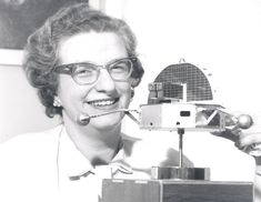 Dr. Nancy Grace Roman Astronomer Dr. Nancy Grace Roman is shown with a model of the Orbiting Solar Observatory (OSO) in 1962. She was the first Chief of Astronomy in the Office of Space Science at NASA Headquarters and the first woman to hold an executive position at NASA. She had oversight for the planning and development of programs including the Hubble Space Telescope.