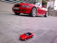 BMW Z3 M Roadster with mini me