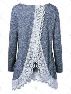 http://www.rosegal.com/blouses/back-slit-lace-trim-blouse-759041.html
