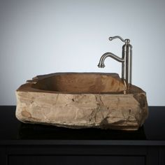 Maywick Petrified Wood Vessel Sink. $1,369.95