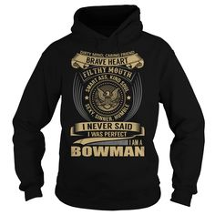 BOWMAN Last Name, Surname T-Shirt