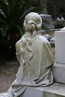 very detailed tombstone Cemetery Monuments, Cemetery Statues, Cemetery Headstones, Old Cemeteries, Cemetery Art, Graveyards, Cemetery Angels, Turn To Stone, Stone Statues