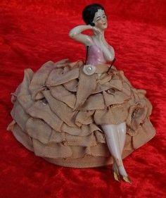 antique-art-deco-half-doll-pin-cushion-doll-flapper-complete-with-legs