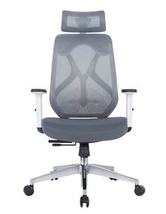 Wyatt Seating Roswell modern grey mesh task chair with headrest. Wyatt Roswell seating for sale. Wyatt Roswell user friendly ergonomic task chair with grey mesh back, seat slider, adjustable arms, lumbar support and more. Mesh Chair, Home Office Chairs, Home Goods, Modern, Home Decor, Trendy Tree, Decoration Home, Room Decor, Interior Decorating