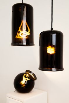 Dark, Moody Lights Inspired by Traditional Cooking Pots