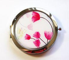 Floral mirror, $15.